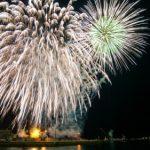 幕張ビーチ花火フェスタ2017年(千葉市民花火大会)/有料席と穴場から迫力の海上花火を