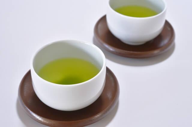 夏の緑茶と熱中症
