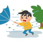 台風の風速の目安は/最大風速や瞬間風速を時速であらわすと?