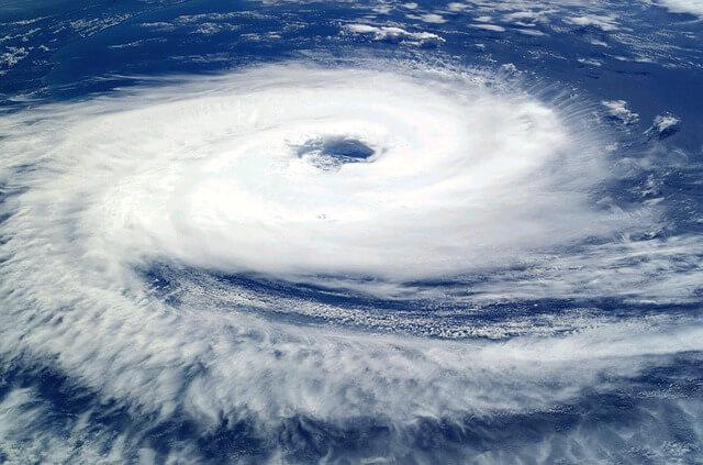 台風の現在位置