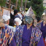 面掛行列2016年の日程や時間やコース。鎌倉のお面のお祭り。
