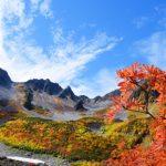 上高地の紅葉のピーク時期と初心者向けコース。涸沢カールは大丈夫?