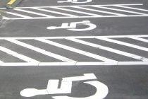 車椅子用駐車場