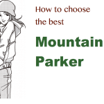 マウンテンパーカーの防水性、レインウェアとの違いや、生地の種類